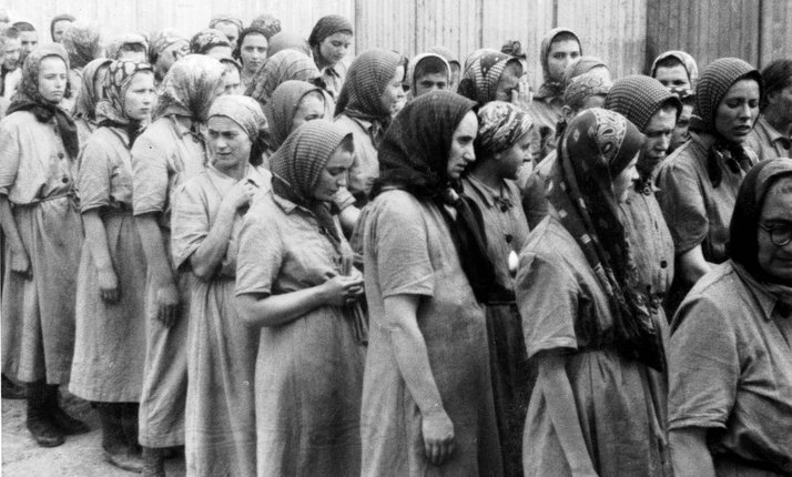 Woman Selection in Auschwitz-Birkenau